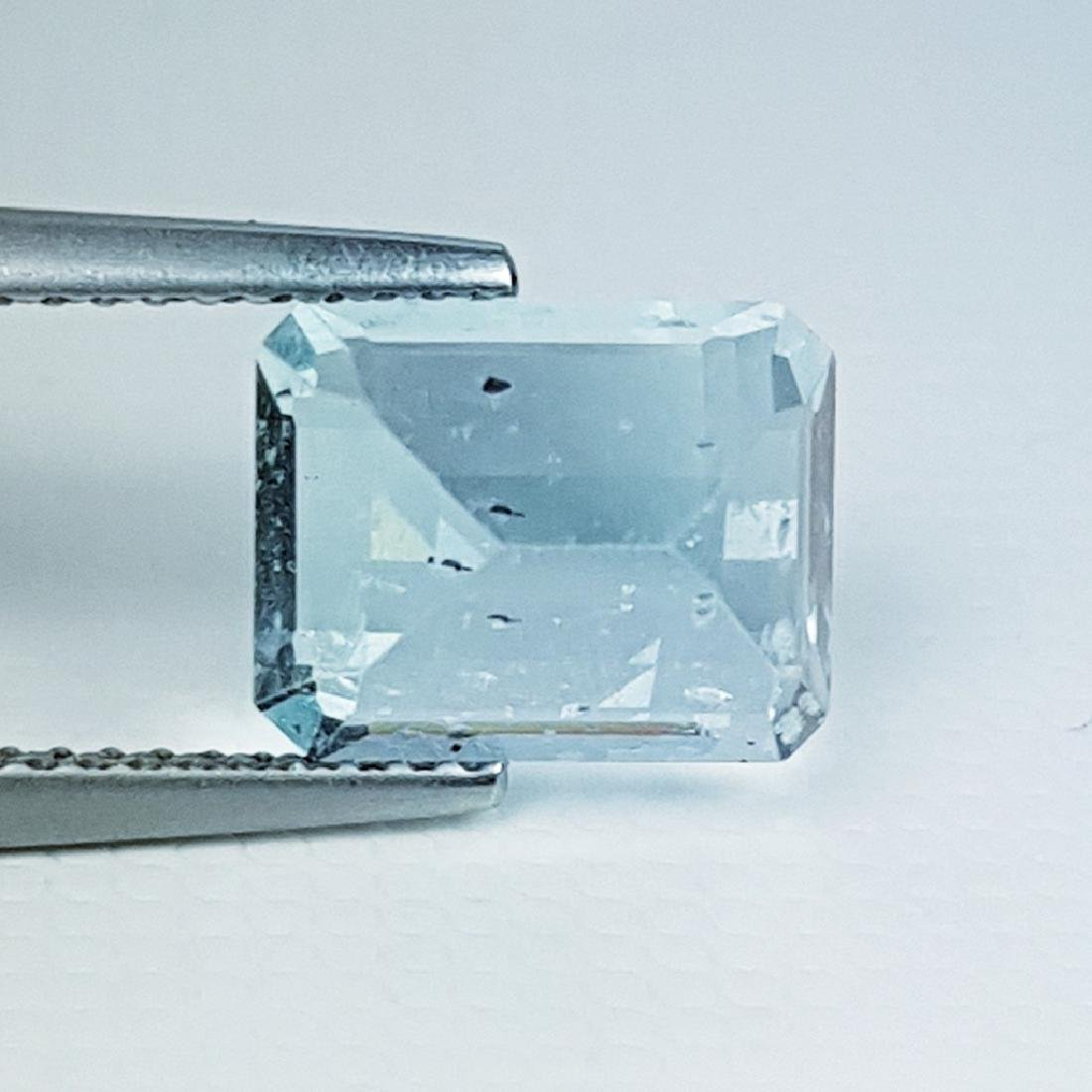 Aquamarine - 3.31 ct - 3