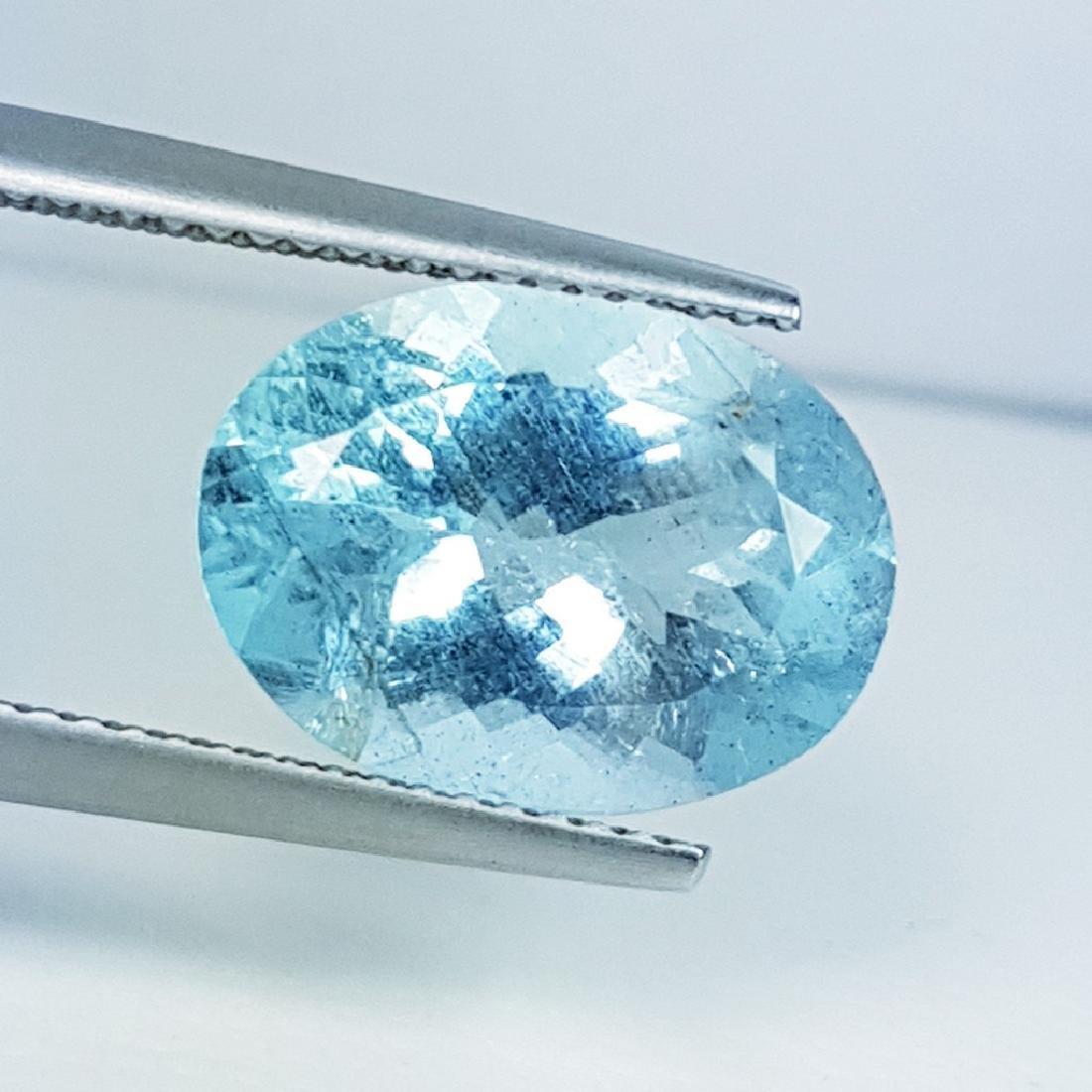 Aquamarine - 4.86 ct