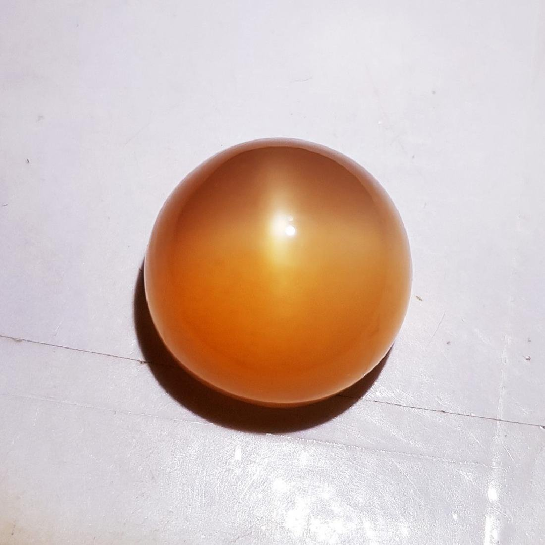 Orange Star Moonstone - 18.36 ct