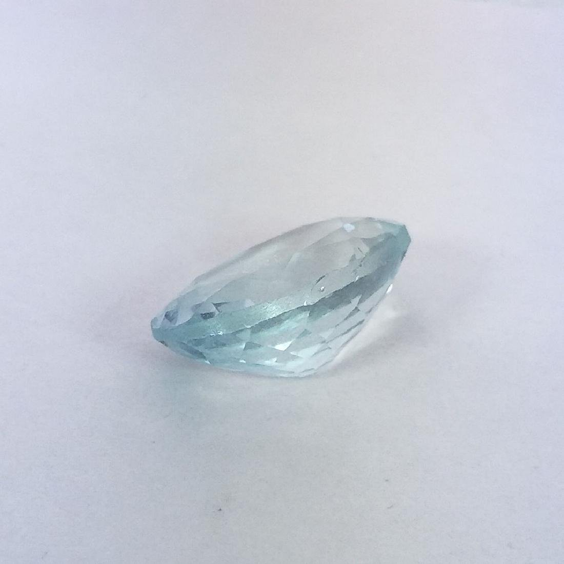 Aquamarine - 3.91 ct - 4