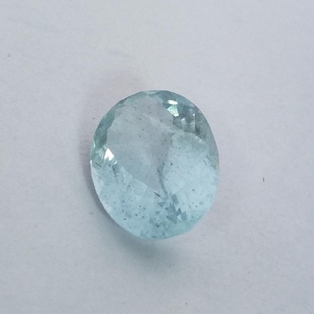 Aquamarine - 3.41 ct - 3