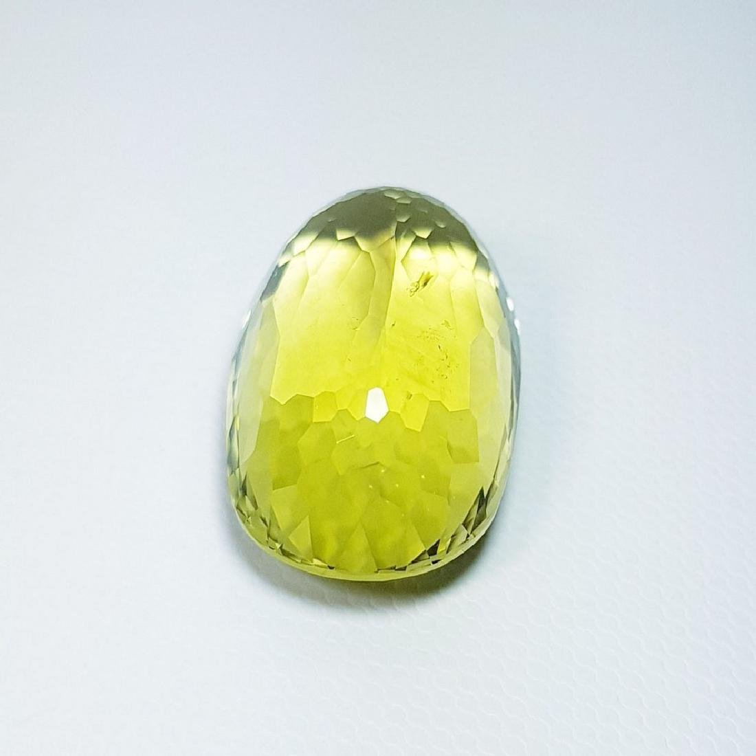 Green Gold Quartz - 29.15 ct - 4