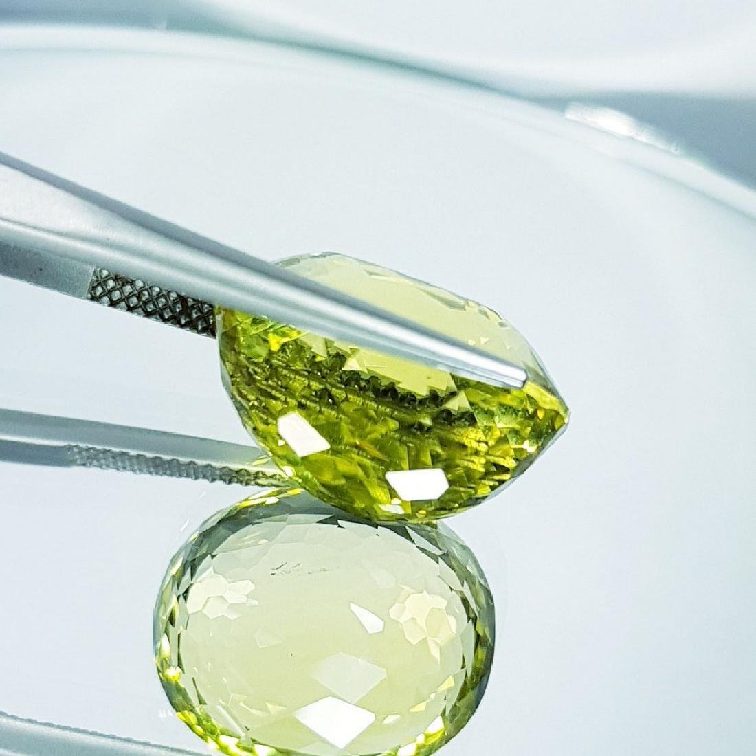 Green Gold Quartz - 16.24 ct - 3
