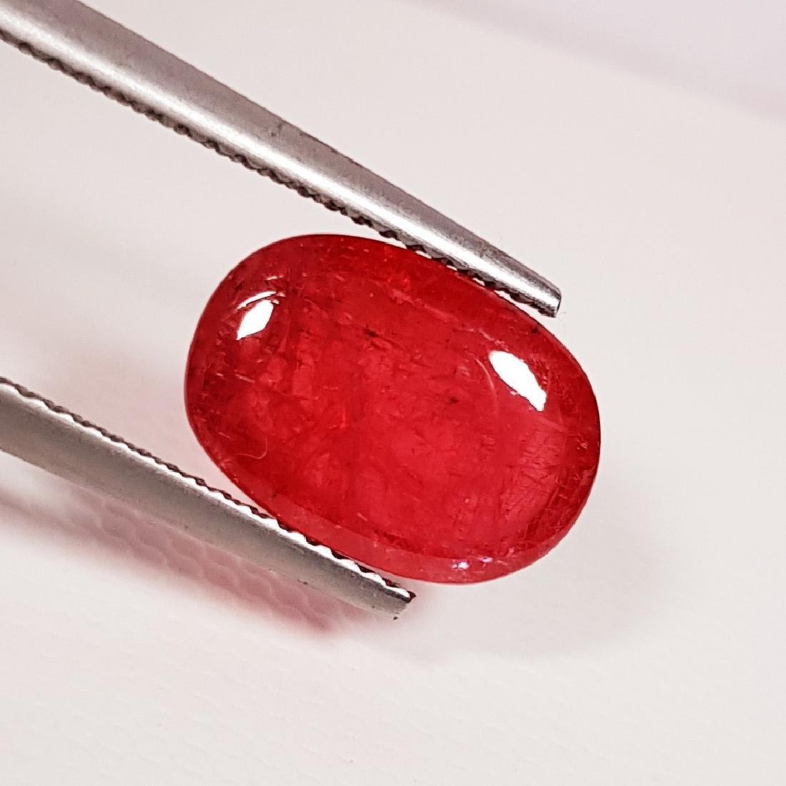 Rhodonite - 5.45 ct - 3
