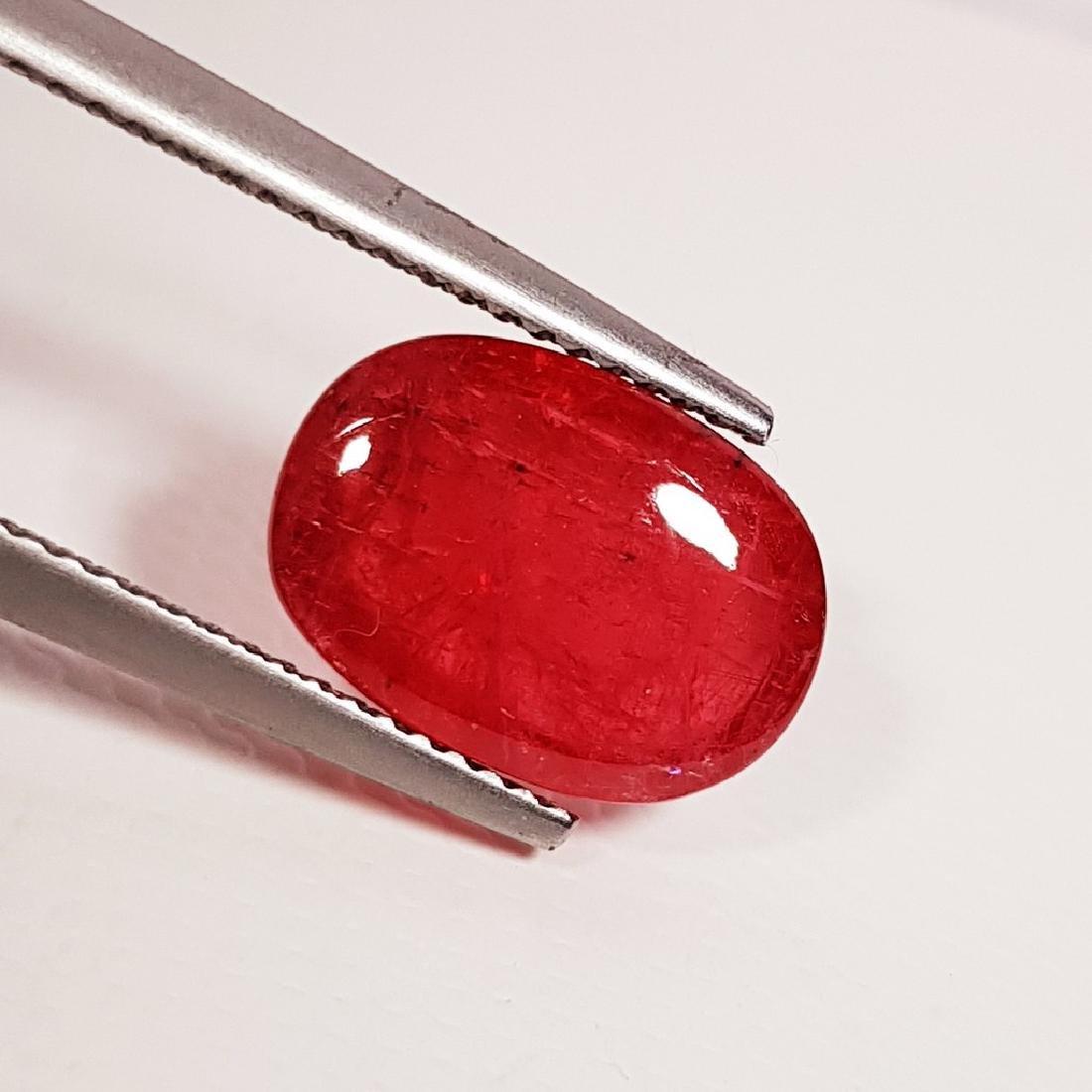 Rhodonite - 5.45 ct - 4