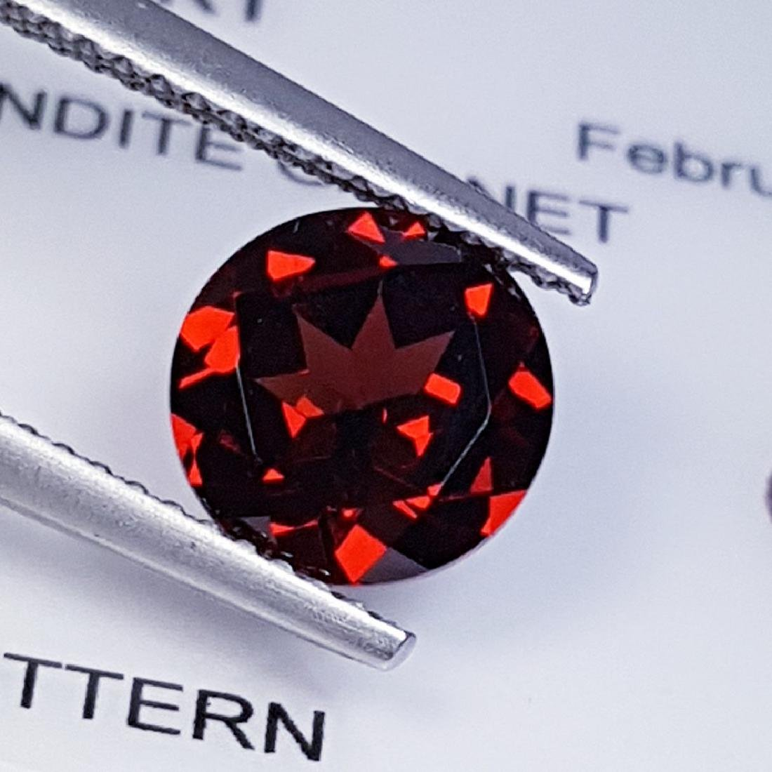 Pyrope - Almandite Red Garnet - 2.28 ct