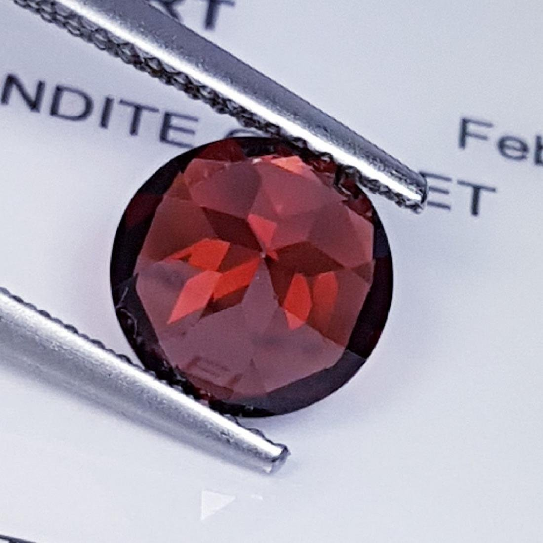 Pyrope - Almandite Red Garnet - 2.28 ct - 4