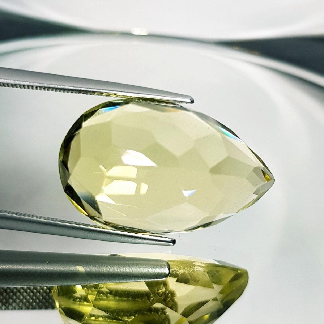 Green Gold Quartz - 26.16 ct - 4