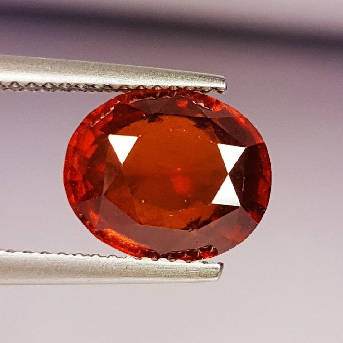 IGI CERTIFIED Hessonite Granet - 5.26 ct