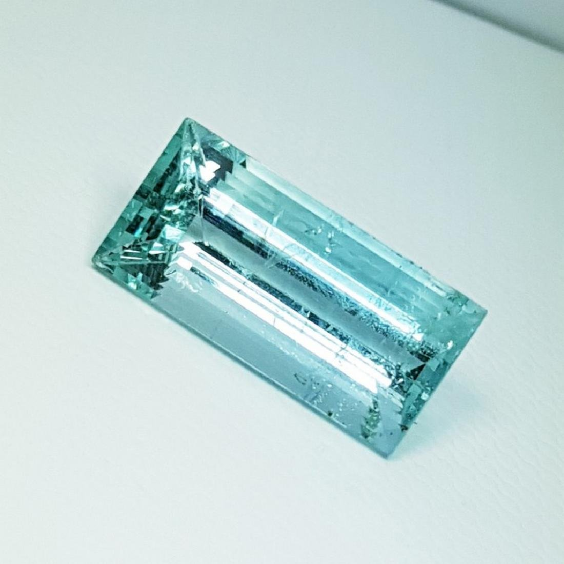 IGI CERTIFIED Aquamarine - 6.51 ct
