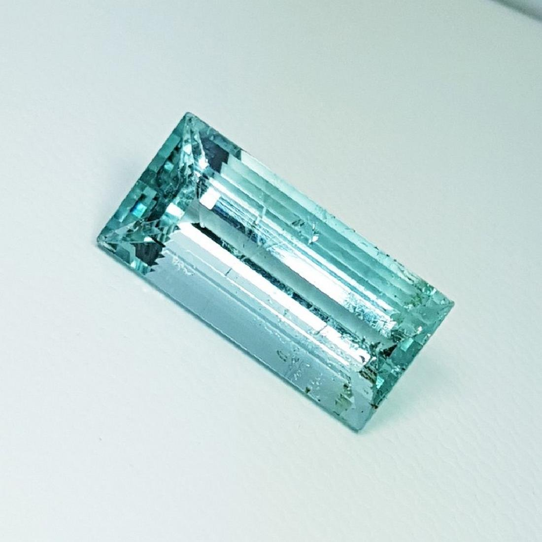 IGI CERTIFIED Aquamarine - 6.51 ct - 2