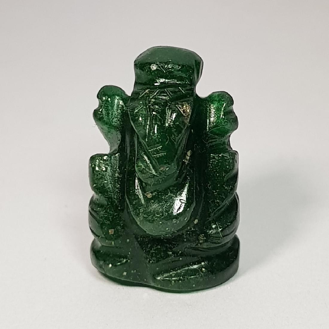 Jade Lord Ganesha Carving - 29.54 ct - 2
