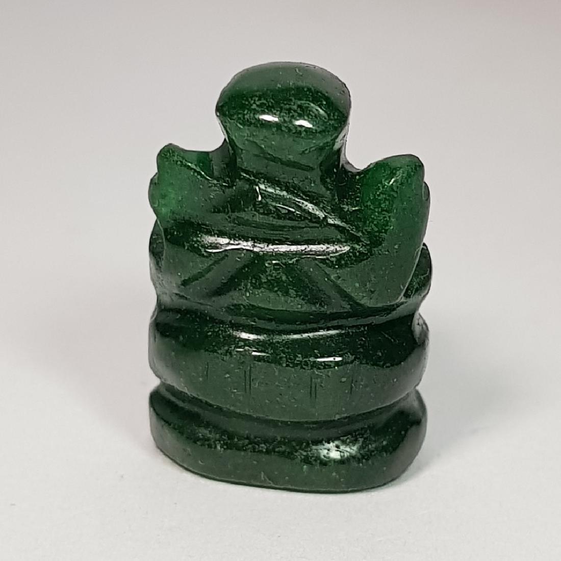 Jade Lord Ganesha Carving - 29.54 ct - 4