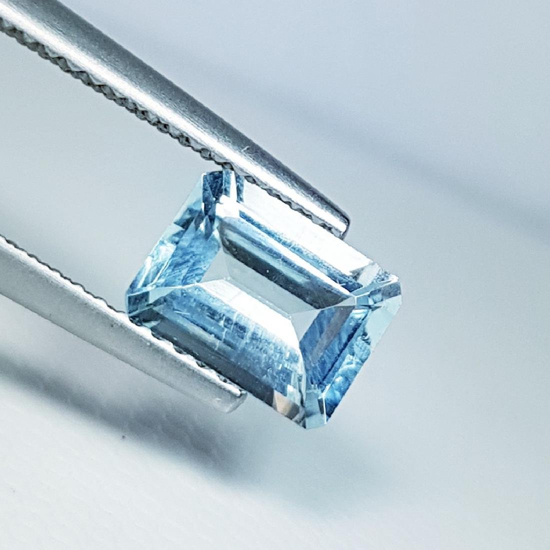 Aquamarine - 1.29 ct - 2