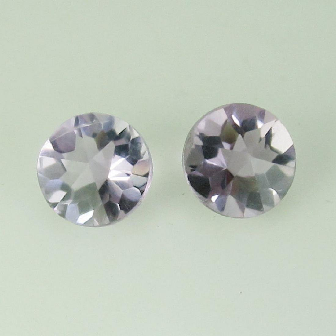 2.28 Ct Genuine Loose Calibrate Matching Amethyst Round