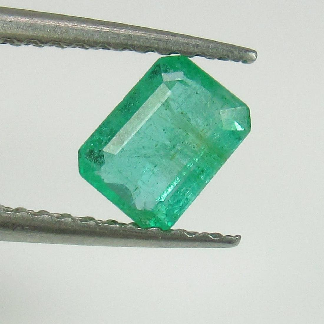 0.58 Ct Genuine Loose Zambian Emerald Octagon cut