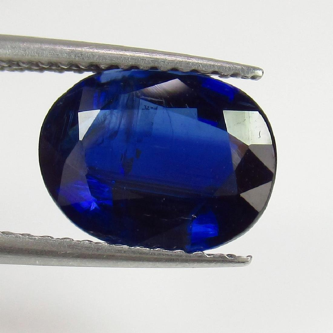 2.95 Ct Genuine Loose Deep Blue Kyanite