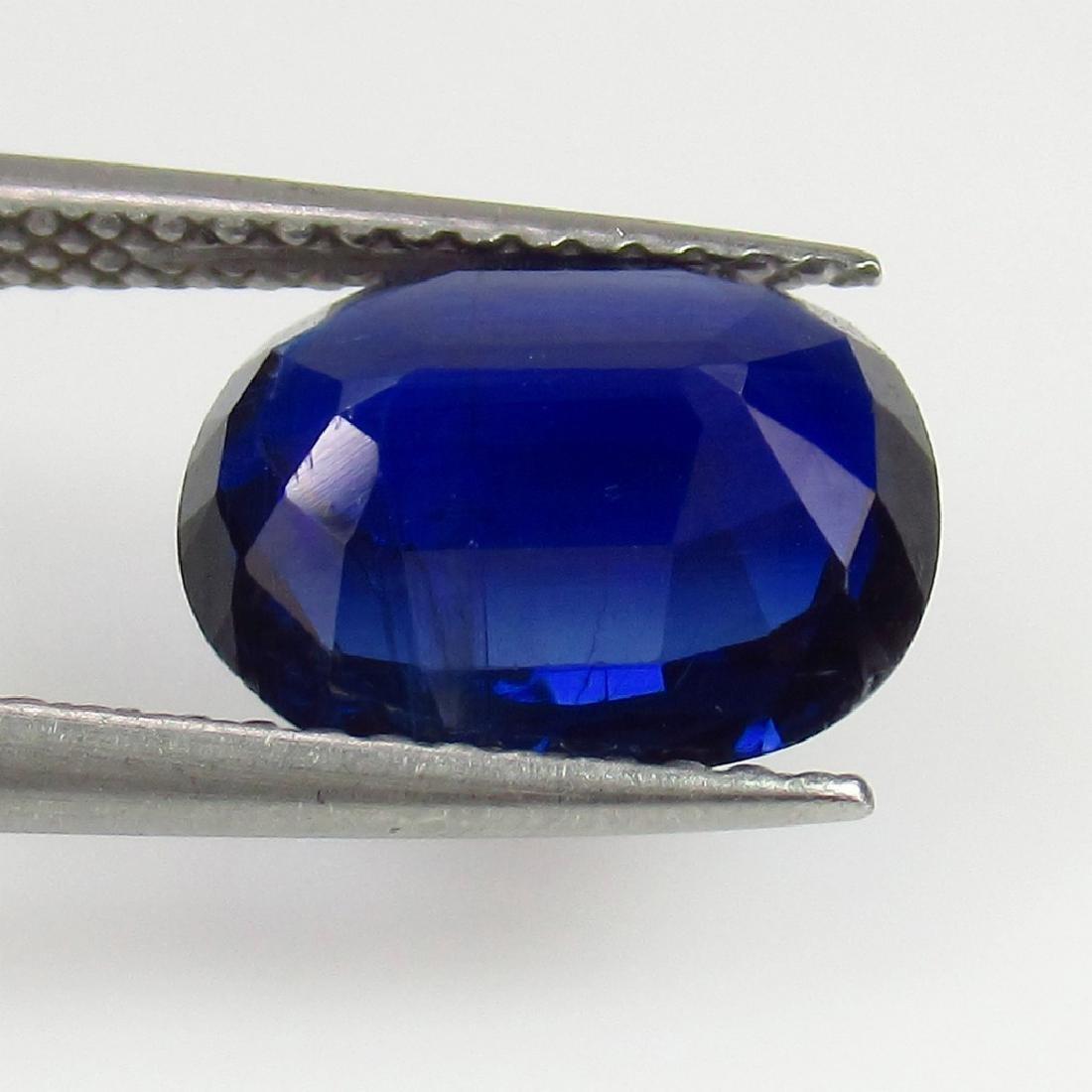 2.95 Ct Genuine Loose Deep Blue Kyanite - 2