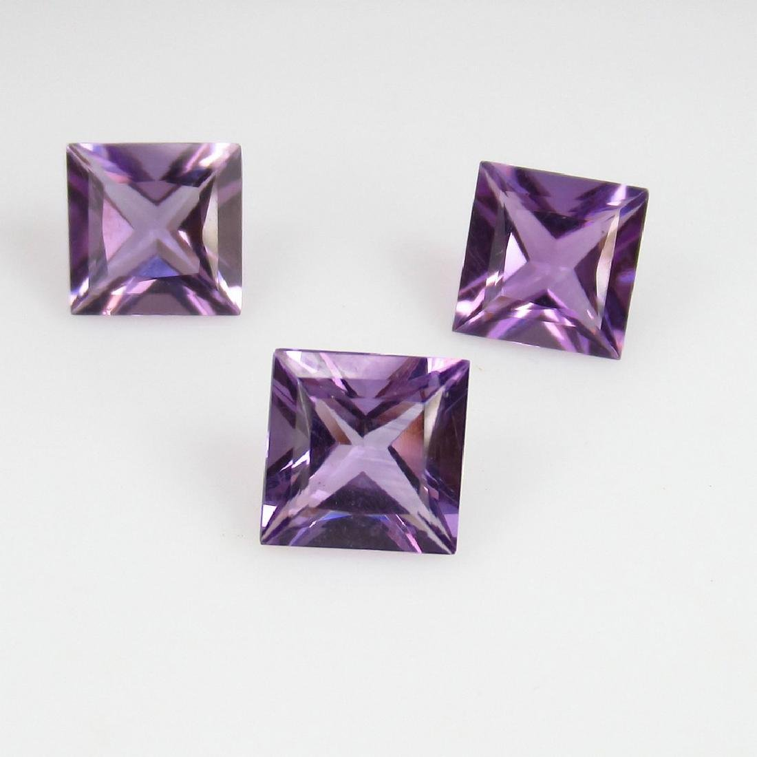 2.95 Ct Genuine Loose Amethyst Calibrate Matching