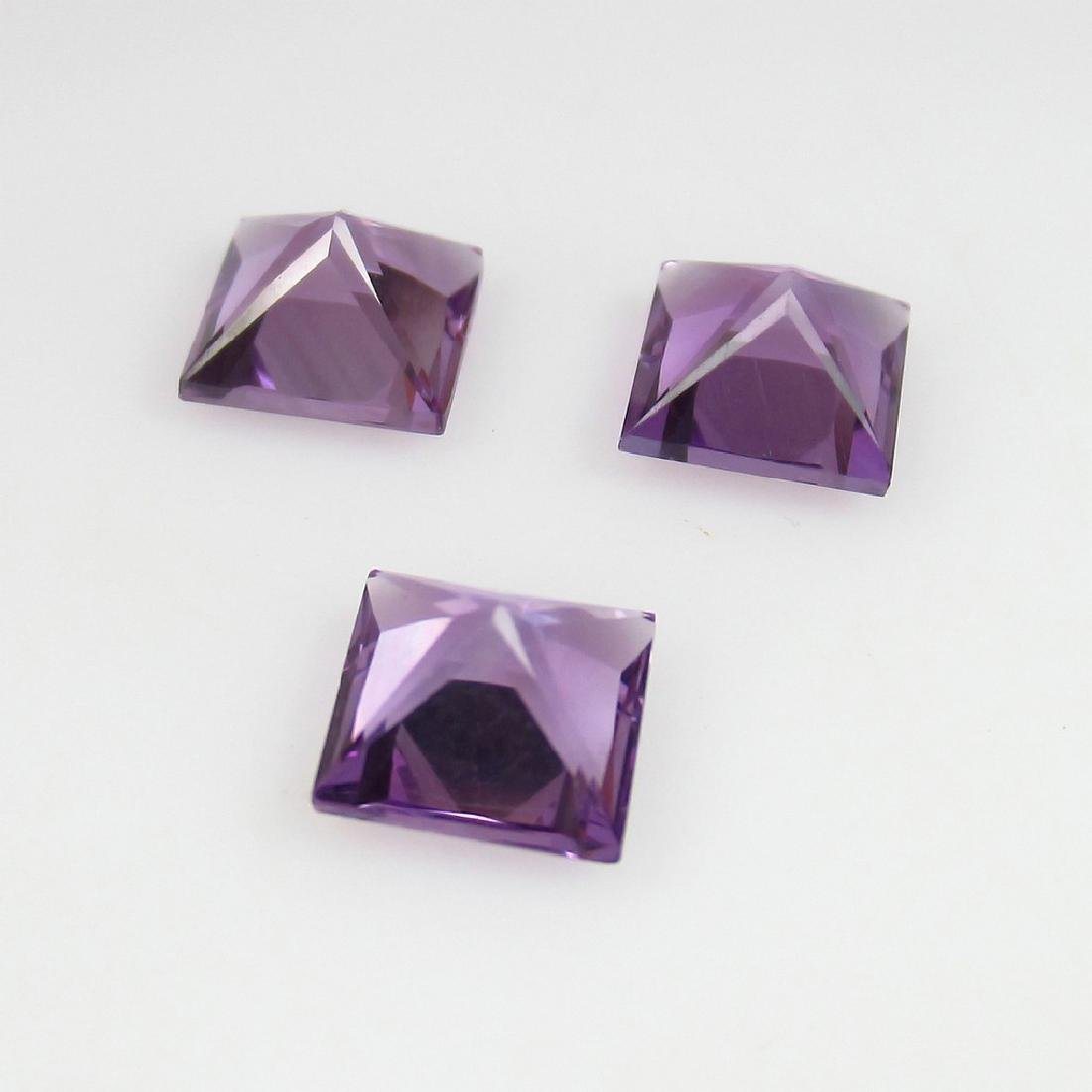 2.95 Ct Genuine Loose Amethyst Calibrate Matching - 2