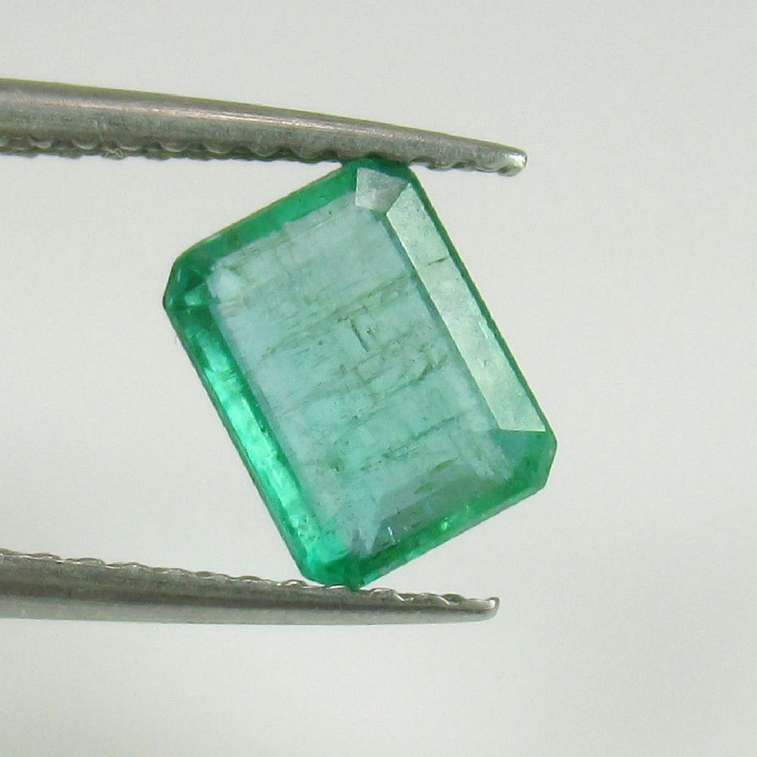 1.33 Ct Genuine Loose Zambian Emerald Octagon cut