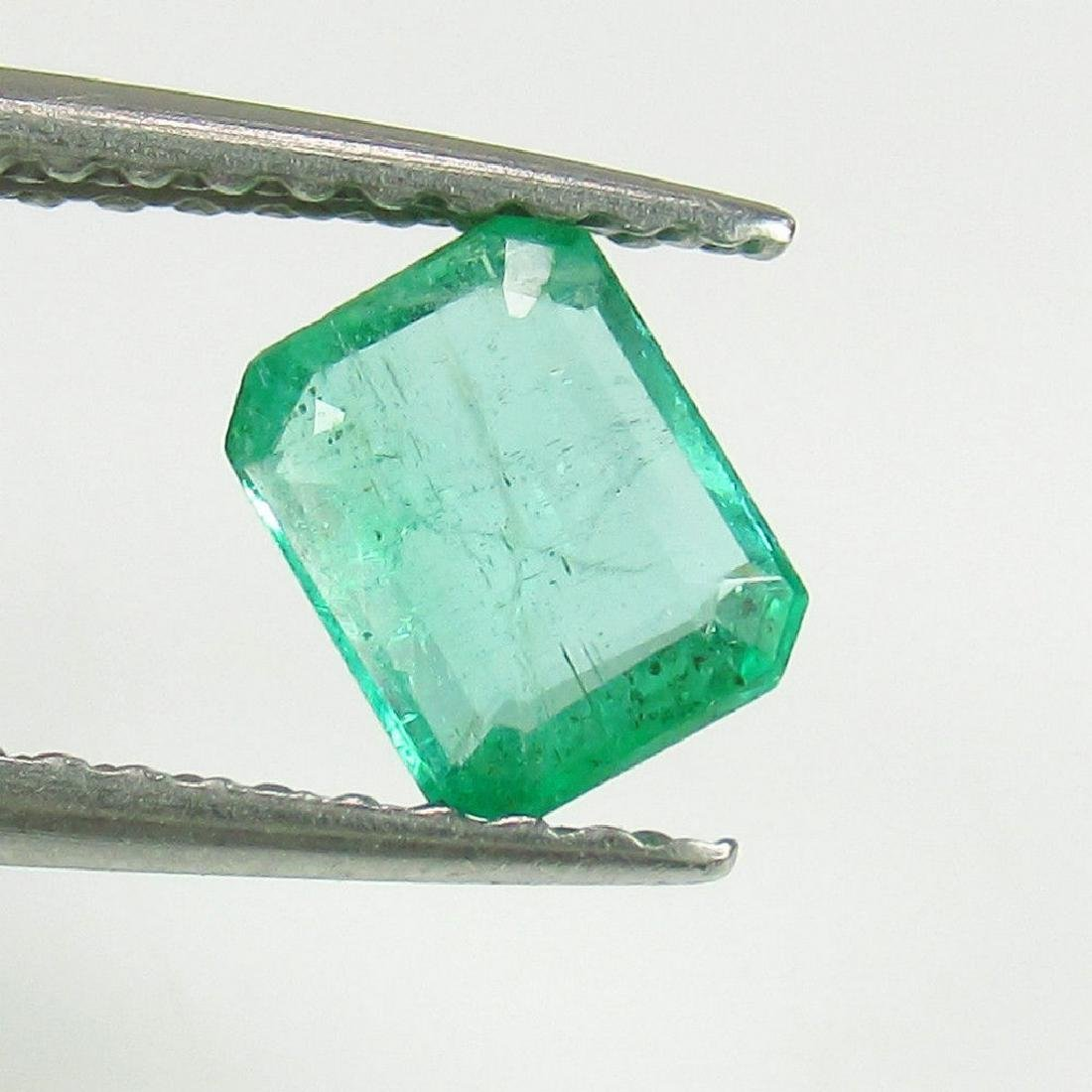 0.55 Ct Genuine Loose Zambian Emerald Octagon cut