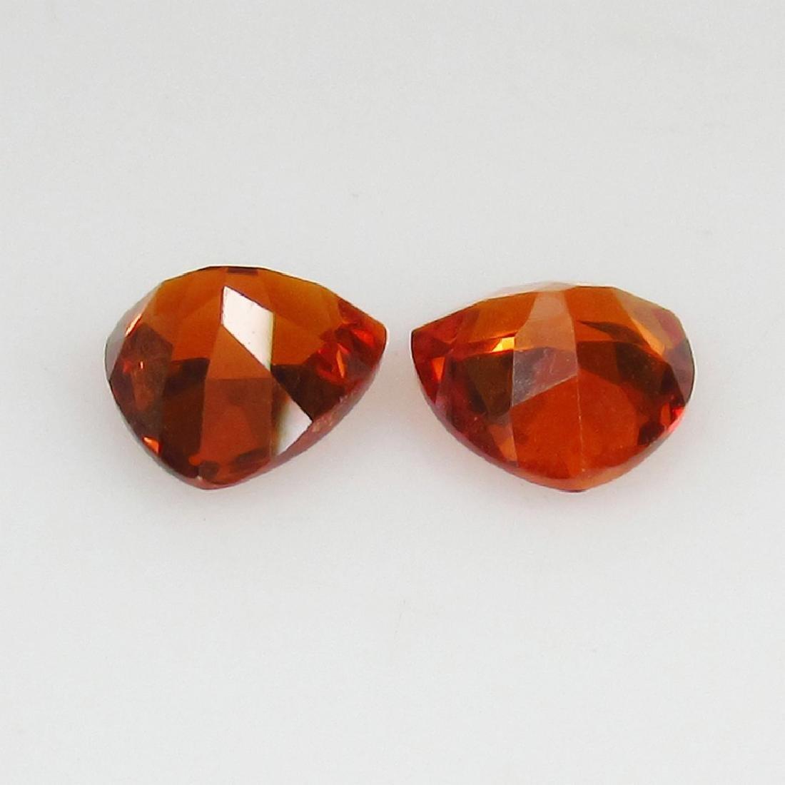 1.26 Ct Genuine Loose Spessartine Garnet Matching - 2