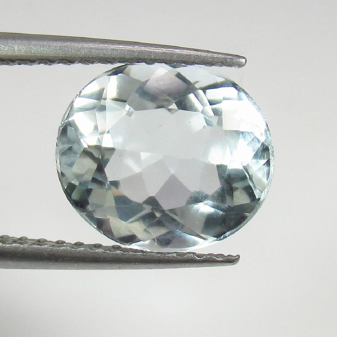 2.42 Ct Genuine Loose Aquamarine Oval cut Top Quality