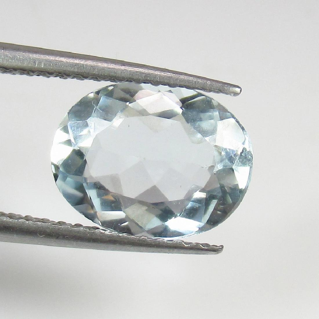 1.92 Ct Genuine Loose Aquamarine Oval cut Top Quality