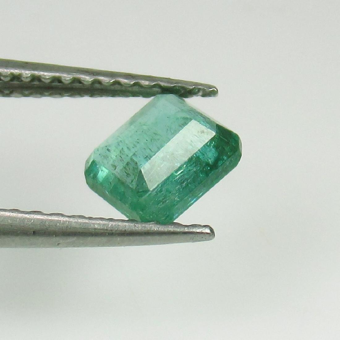 0.78 Ct Genuine Loose Zambian Emerald Octagon cut - 2