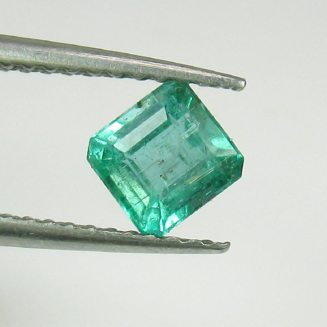 0.72 Ct Genuine Loose Zambian Emerald Octagon cut