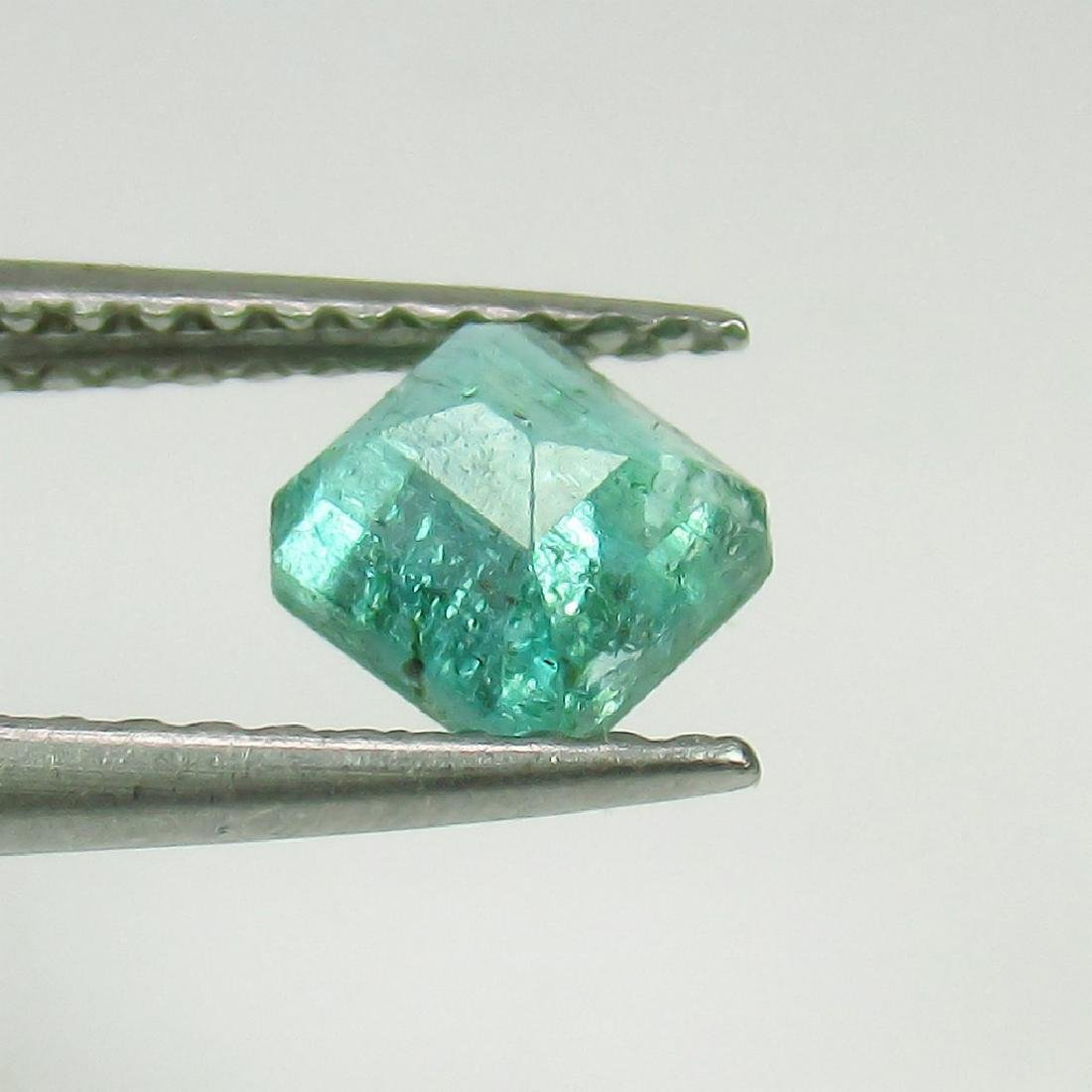 0.72 Ct Genuine Loose Zambian Emerald Octagon cut - 2