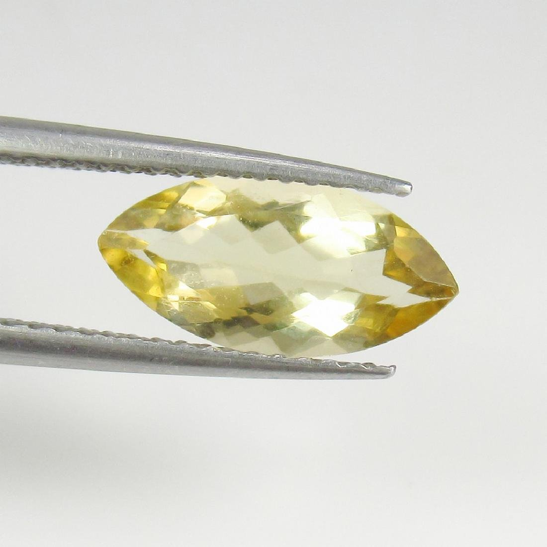 1.48 Ct Genuine Loose Yellow Scapolite Rare Marquise