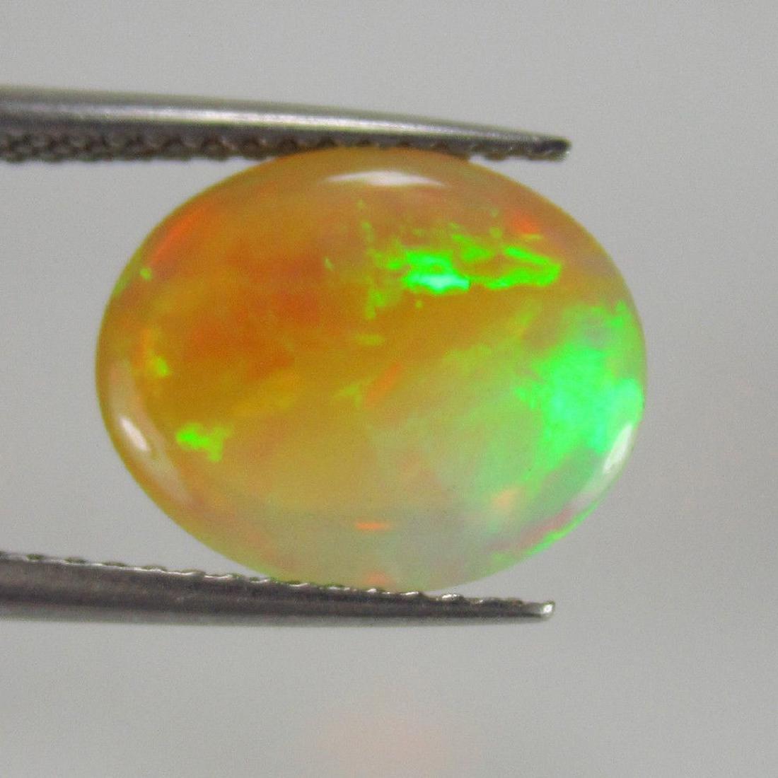 2.80 Ct Genuine Loose Ethiopian Multi-Color Fire Welo - 3