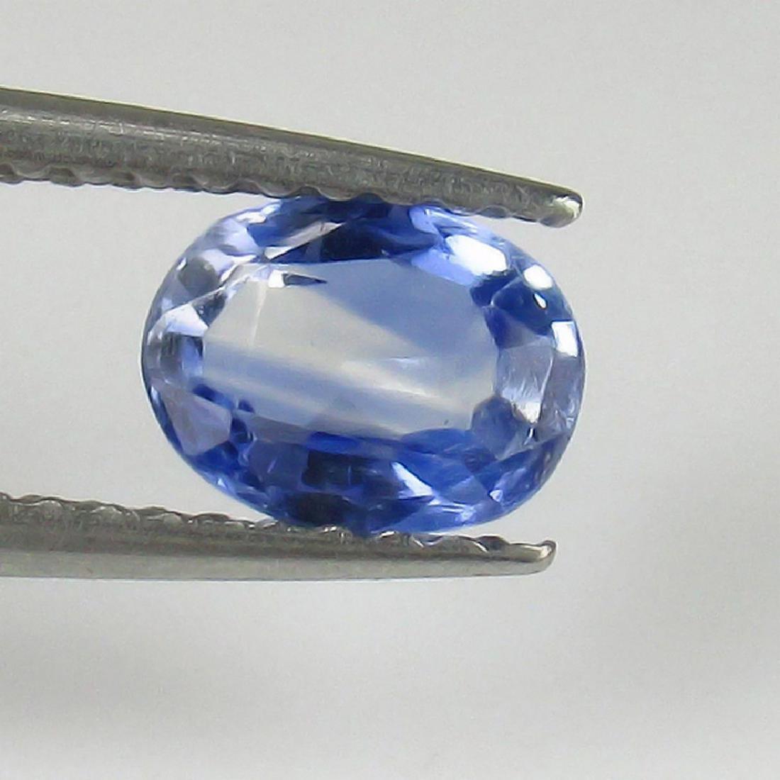 0.75 Ct Genuine Ceylon Blue Sapphire Top Quality Luster