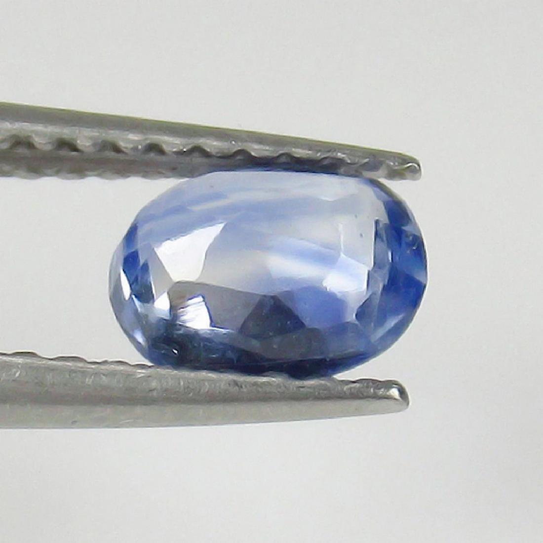 0.75 Ct Genuine Ceylon Blue Sapphire Top Quality Luster - 2