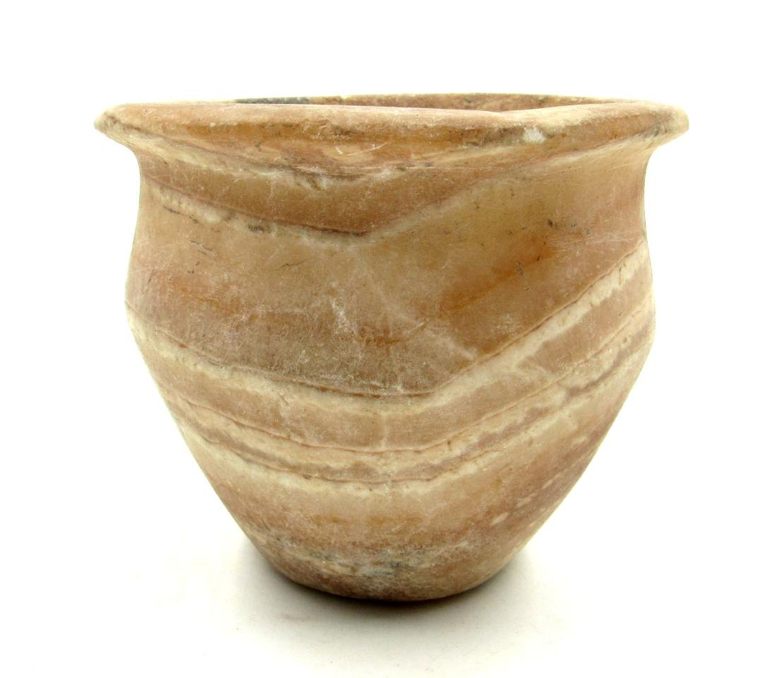 Ancient Egyptian Alabaster Jar