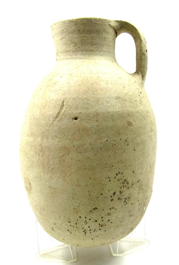 Large Ancient Greek Cypriot Jug with Handle