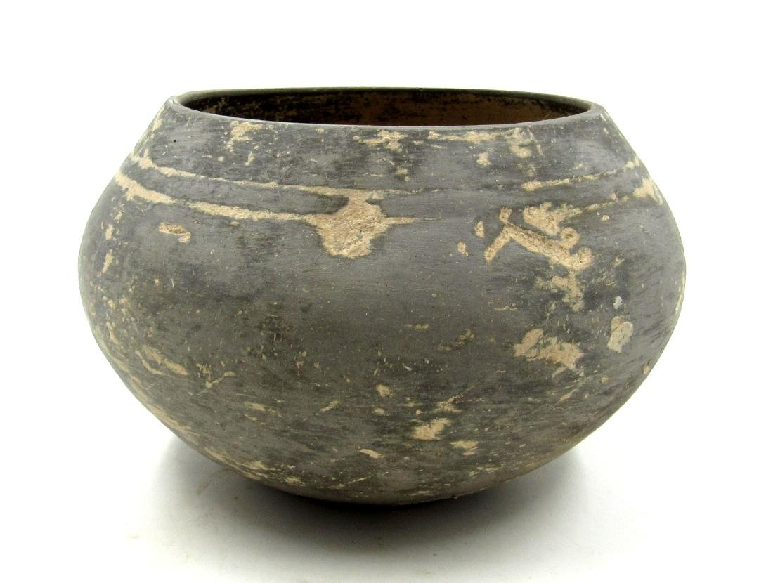 Ancient Greek Cypriot Terracotta Blackware Bowl - 2