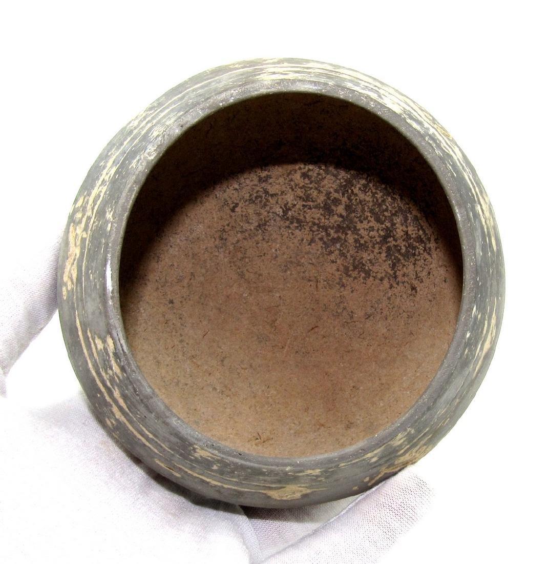 Ancient Greek Cypriot Terracotta Blackware Bowl - 3