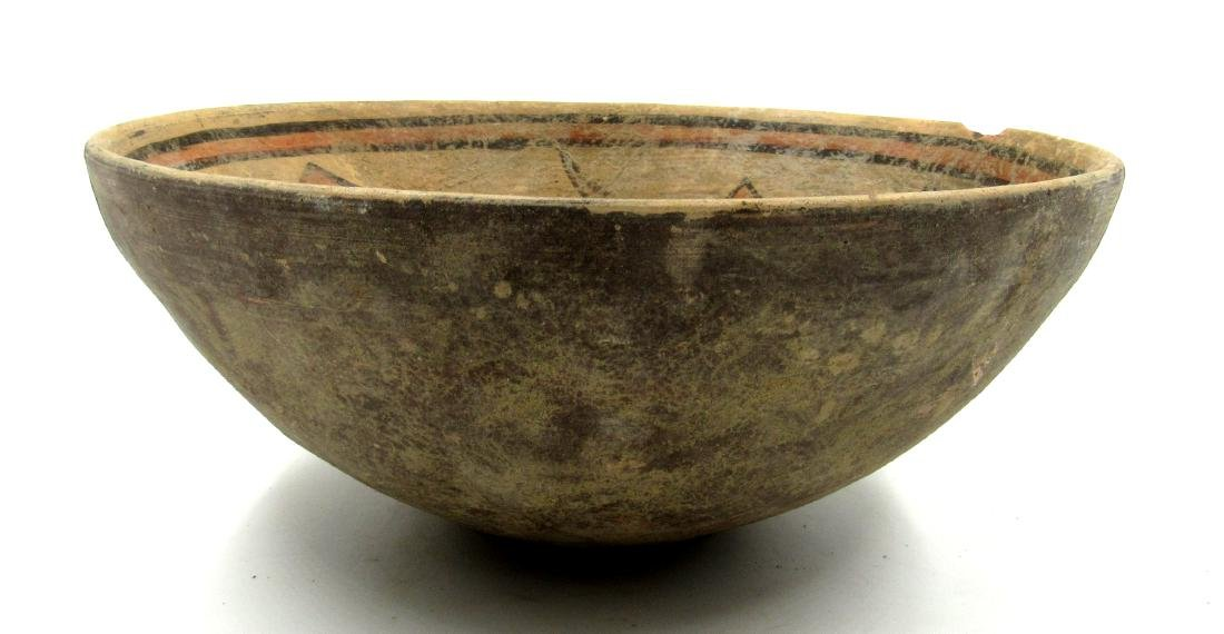 Ancient Indus Valley Terracotta Bowl with Fish - 2