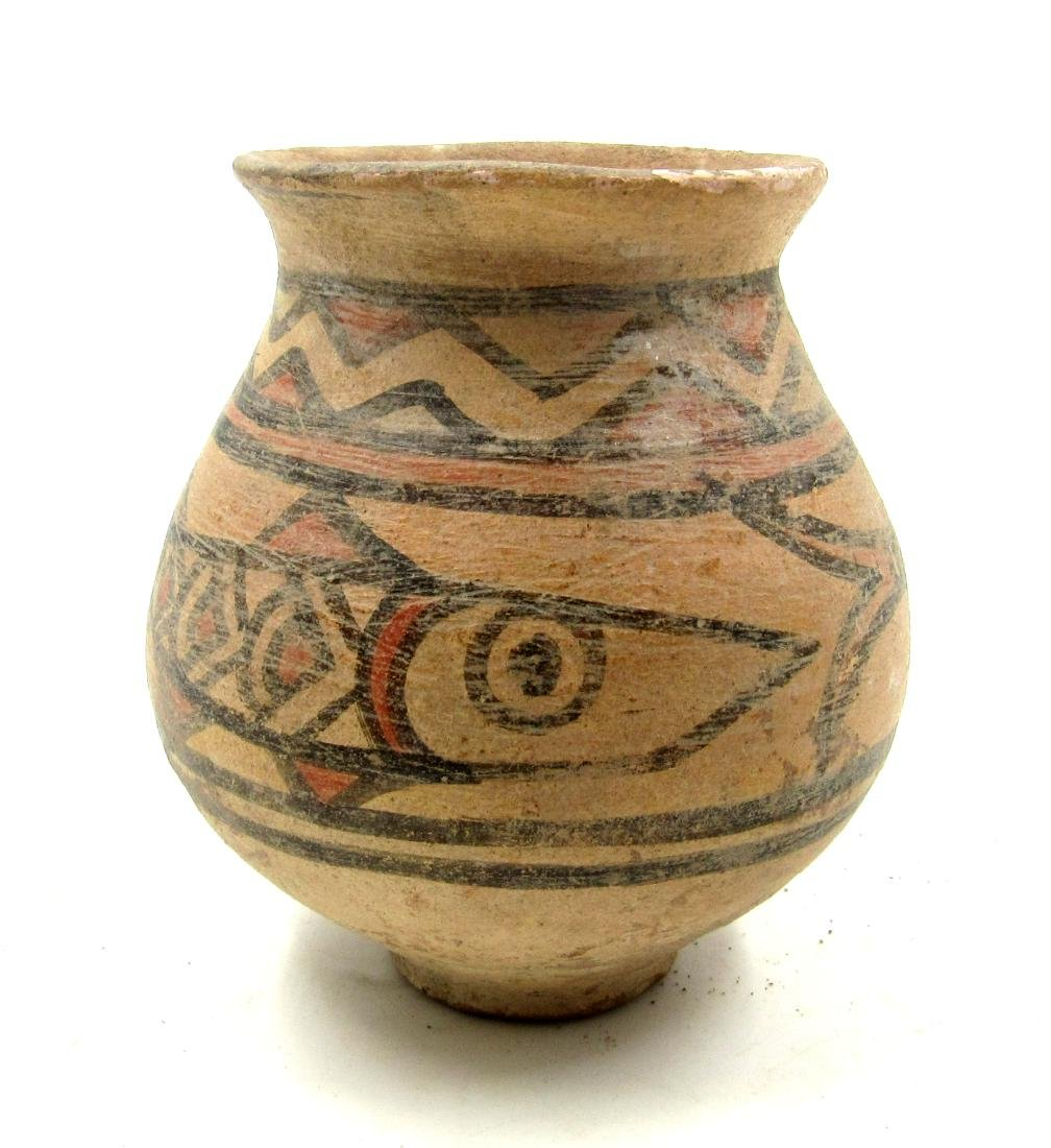 Ancient Indus Valley Terracotta Jar with Fish