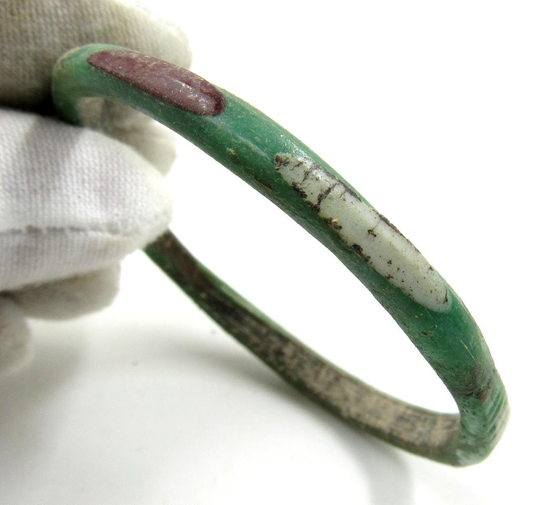 Ancient Byzantine Colored Glass Bracelet