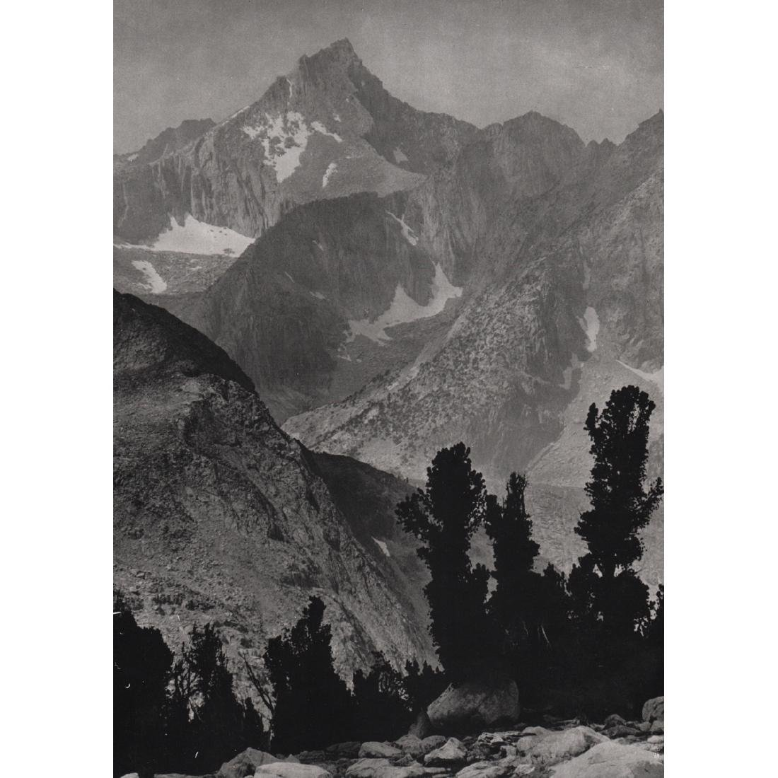ANSEL ADAMS - Mount Clarence King, 1924