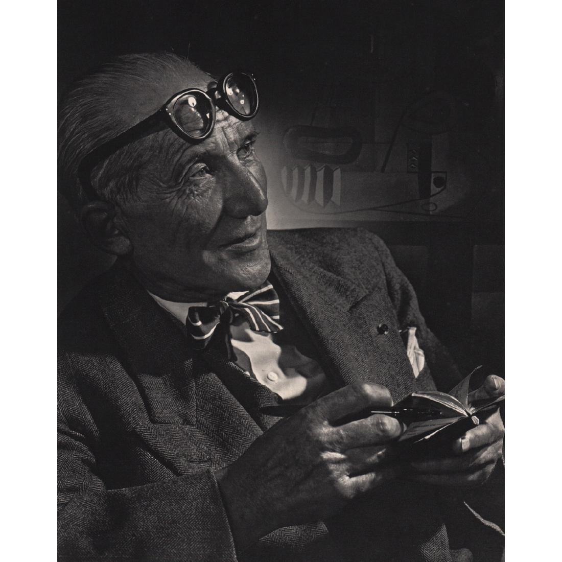 YOUSUF KARSH - Le Corbusier