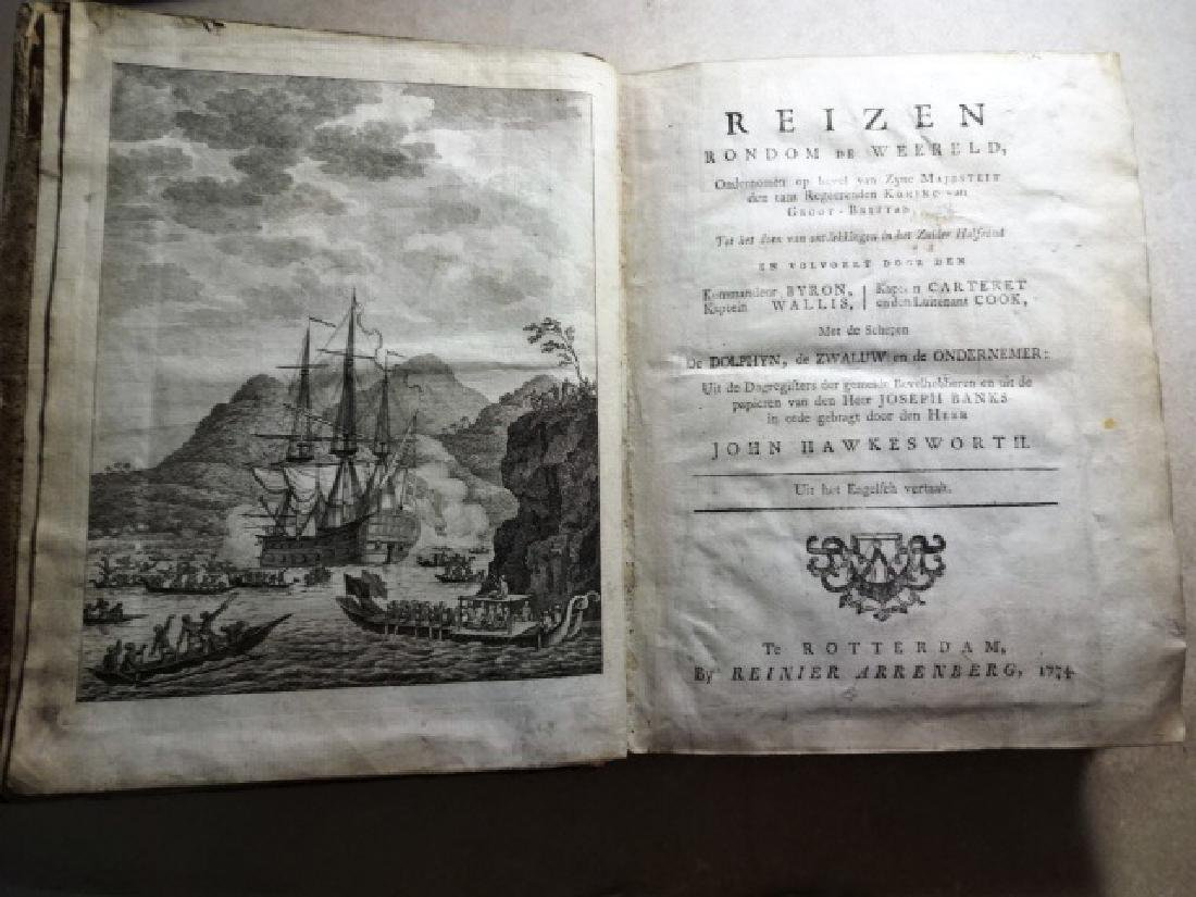 1774 Hawkesworth Voyages w/ 1795 America Northwest