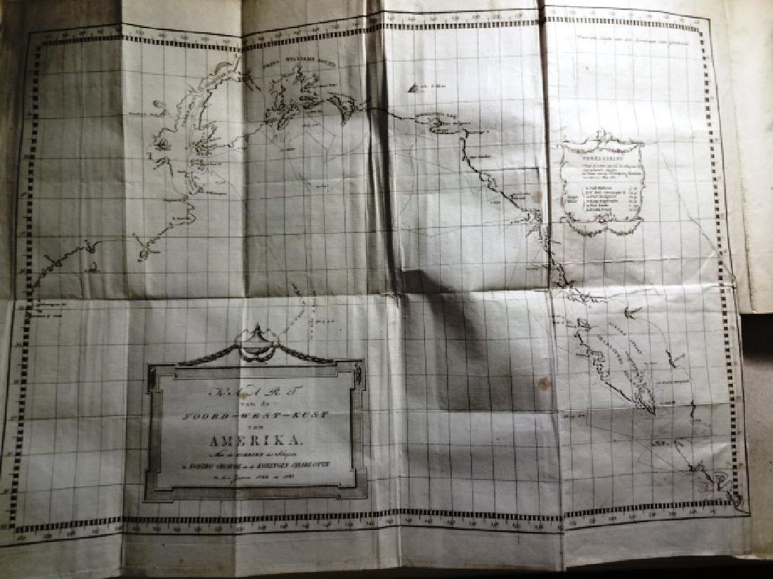 1774 Hawkesworth Voyages w/ 1795 America Northwest - 4