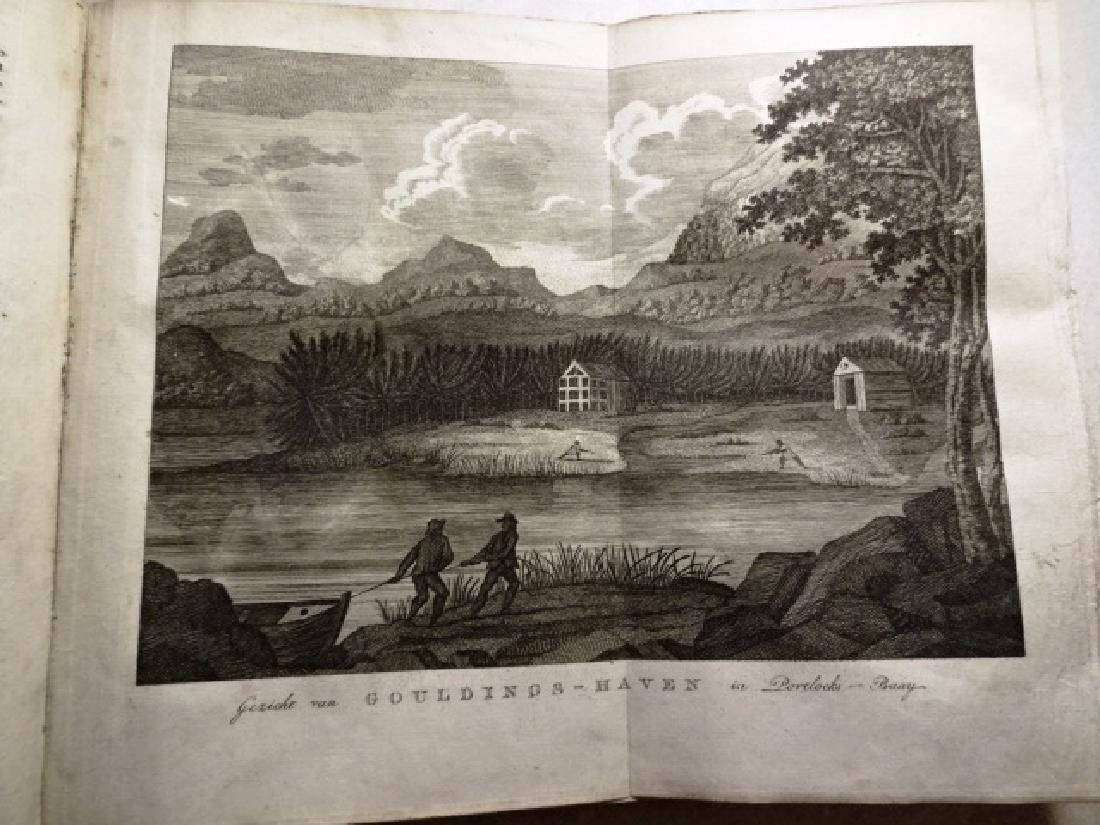 1774 Hawkesworth Voyages w/ 1795 America Northwest - 5