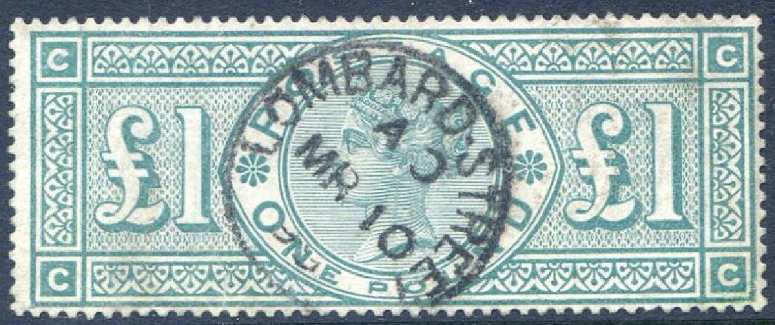 Stamp £1 Green SG212