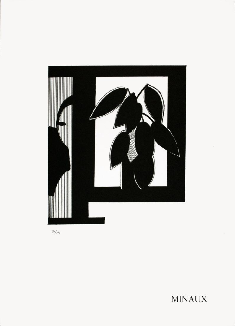 Andre Minaux Lithograph Nature Morte